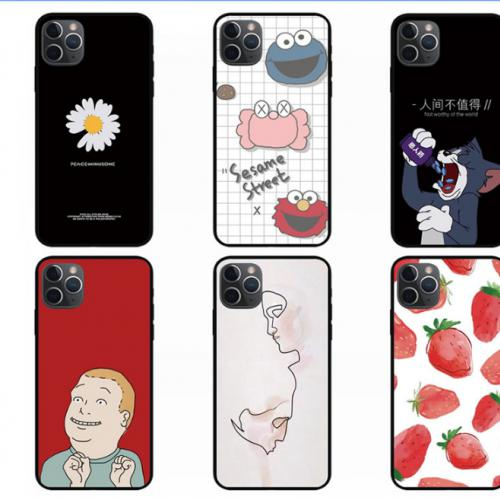 iPhone 11Pro Max手机壳软硅胶适用于苹果11保护套全包个性创意潮